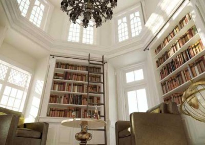 Castle-Library-at-Belek-Resort