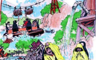 River Raft Ride at Happy Valley