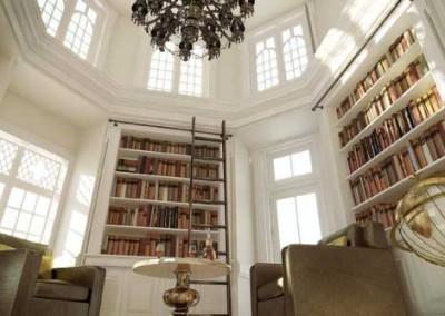 Castle-Library-at-Belek-Resort